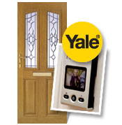 Composite doors - including free electronic view finder