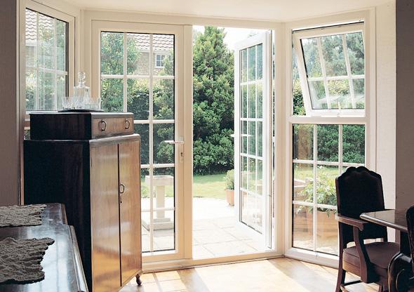... uPVC French doors ... & uPVC u0026 Composite Doors - Oakland Windows u0026 Conservatories u003e uPVC ...